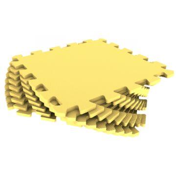 Мягкий пол Экополимеры 33*33 (желтый)