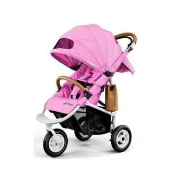 Коляска прогулочная AirBuggy Coco Brake (Cool Pink)