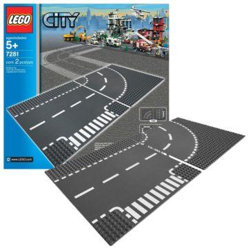 Конструктор Lego City 7281 Город Т-образная развязка