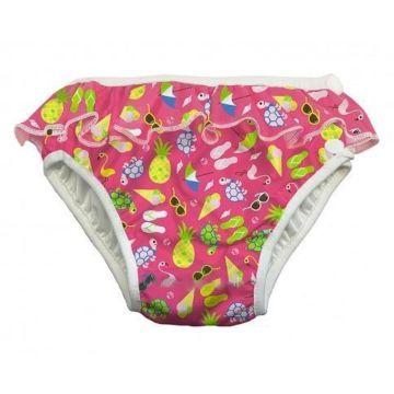 Подгузники-трусики для купания ImseVimse Pink Beach Life Frill