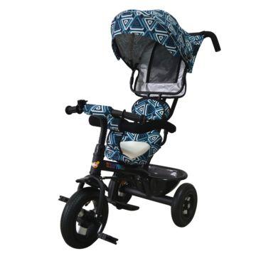 Трехколесный велосипед Babyhit Kids Tour с надувными колесами (blue)