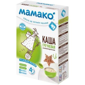 Гречневая каша Мамако на козьем молоке (с 4 мес.)