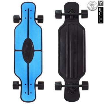 "Лонгборд Y-Scoo Fish Skateboard TIR 31"" с сумкой (blue/black)"