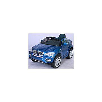 Электромобиль Joy Avtomatic BMW X6 с пультом управления (синий)