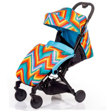 Коляска прогулочная Babyhit Amber (zigzag blue)