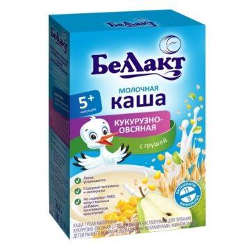Каша сухая молочная кукурузно-овсяная с грушей Беллакт (с 5 мес.) 250 г