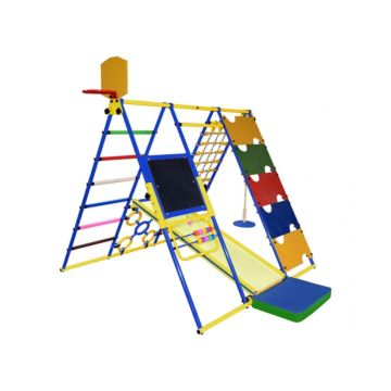 Детский спортивный комплекс Формула Здоровья Вершинка W Плюс (синий)