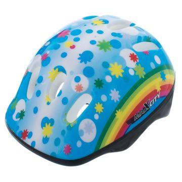 Шлем MaxCity Baby Rainbow S (синий)