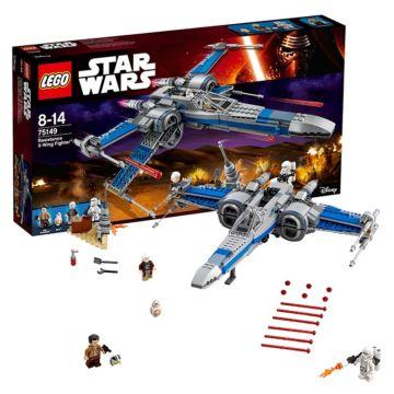 Конструктор Lego Star Wars 75149 Звездные войны Истребитель Сопротивления типа Икс