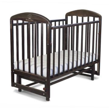 Кроватка детская Альма-Няня Венеция (поперечный маятник) (венге)