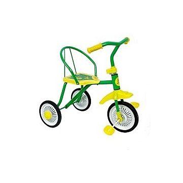 Трехколесный велосипед Moby Kids Дино (Зеленый)