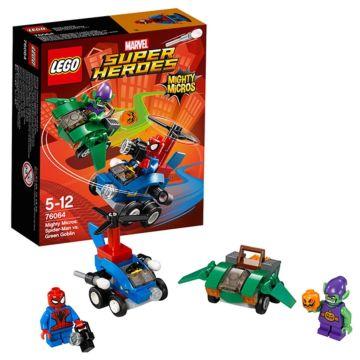 Конструктор Lego Super Heroes 76064 Супер Герои Человек-паук против Зелёного Гоблина