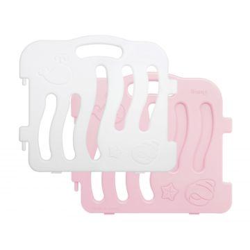 Манеж Ifam Shell большой (серо-розовый)