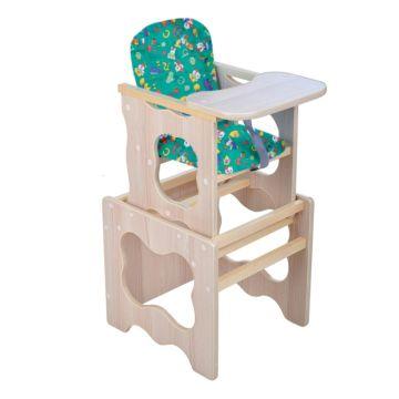 Стул-стол для кормления Мега Дом Фунтик (зеленый)