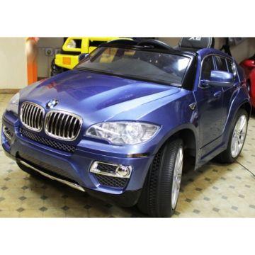Электромобиль Kids Cars BMW X6 с пультом управления (синий)