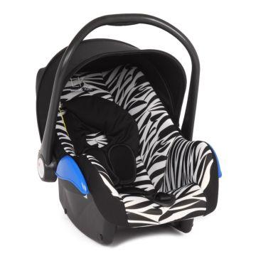 Автолюлька Leader Kids Roomer Zebra (Черный+принт Зебра)