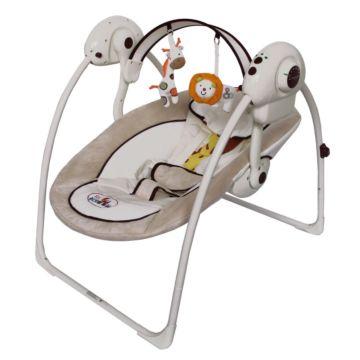 Электрокачели-шезлонг ForKiddy Swing (beige)