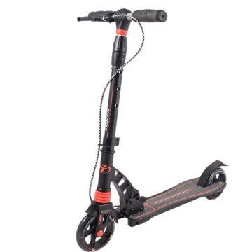 Самокат TechTeam Corsa 2018 (черно-оранжевый)