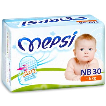 Подгузники Mepsi Mini NB (0-6 кг) 30 шт.