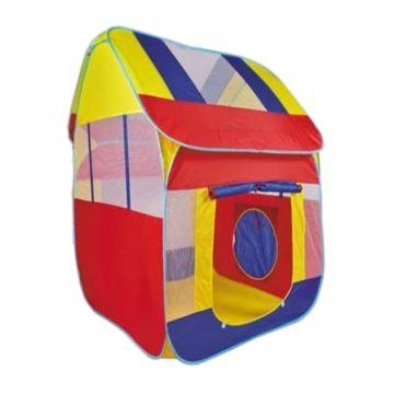 Детская палатка с шарами Yako Дом (Красный)