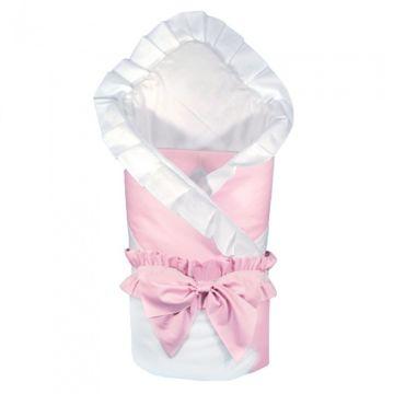 Комплект на выписку демисезонный Alis Зефир (2 предмета) (белый/розовый)