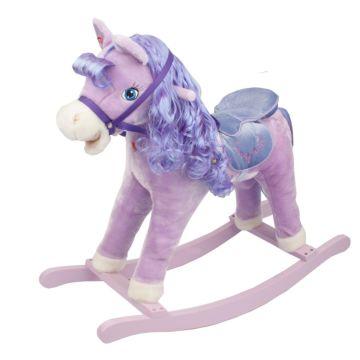 Качалка-лошадь Pituso Fandango (фиолетовая)