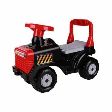 Каталка Plast Land Трактор (черный)