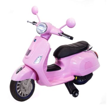 Электромотоцикл ToyLand Vespa XMX318 (розовый)