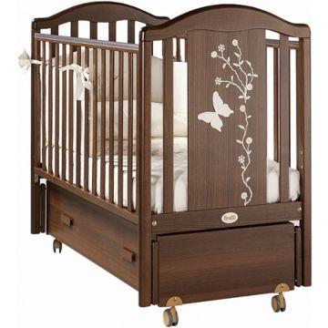 Кроватка детская Feretti Privilege Swing (продольный маятник) (орех)