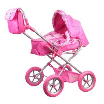 Коляска для куклы Gulliver 2215155 (Розовый)