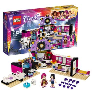 Конструктор Lego Friends 41104 Поп-звезда: гримерная