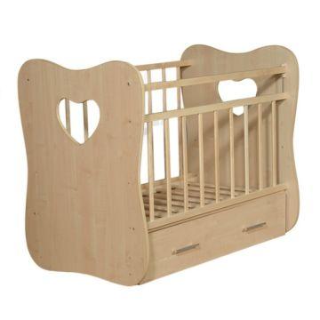 Кроватка детская ВДК Vita (поперечный маятник) (клен)