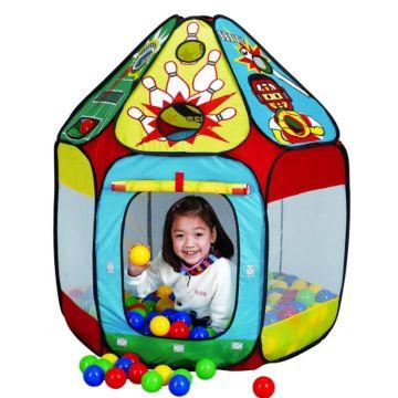 Детская палатка Calida с шарами Домик-спорт