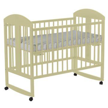 Кроватка детская Gnom Мишки (качалка-колесо) (лак)