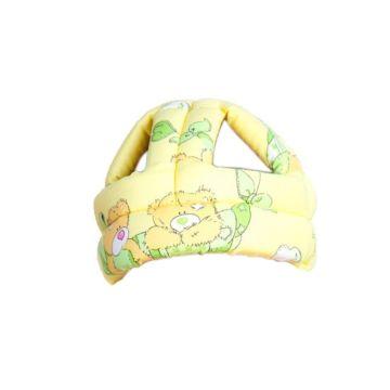 Шапка-шлем противоударная Baby Bum (желтый)