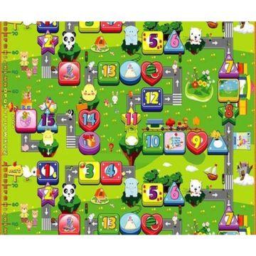 Развивающий коврик Babypol Забавный лабиринт 200х180см