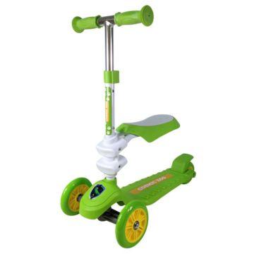 Самокат Small Rider Cosmic Zoo Galaxy Seat с регулировкой руля (зеленый)
