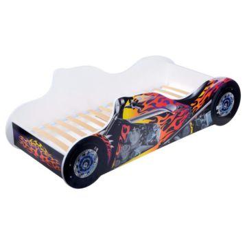 Кровать-мотоцикл Кроватка5 Байк (синий)