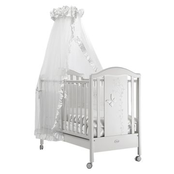 Кроватка Feretti Privilege (колесо) (белая)