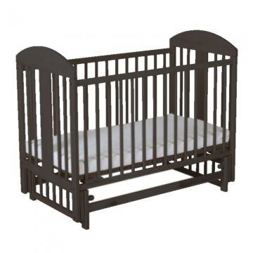 Кроватка детская Gnom Мишки (поперечный маятник) (венге)
