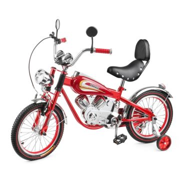 Велосипед-мотоцикл Small Rider Motobike Vintage (красный)