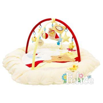 Развивающий коврик Felice Сонный мишка (Бежевый)