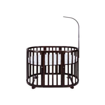 Кроватка-трансформер Ellipse Bed 6 в 1 (коричневый)