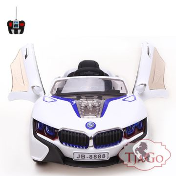 Электромобиль TjaGo 988BS с пультом управления (белый)