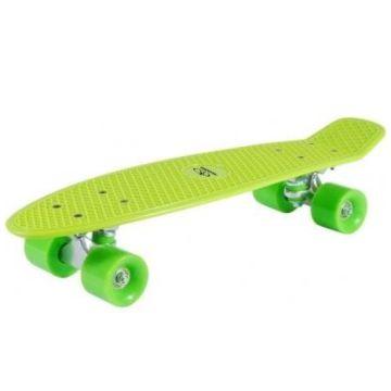 "Мини-круизер Hudora Skateboard Retro 22"" (зеленый)"