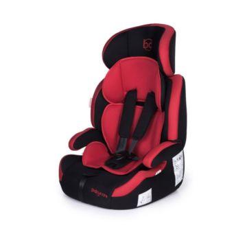 Автокресло Baby Care Legion (черно-красное)