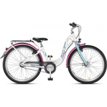 """Подростковый велосипед Puky Skyride 24-3 Alu Active light 24"""" (white/turquoise)"""