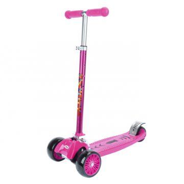 Самокат MaxCity Crocks (розовый)