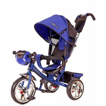 """Трехколесный велосипед Moby Kids Comfort 12/10"""" (Синий)"""