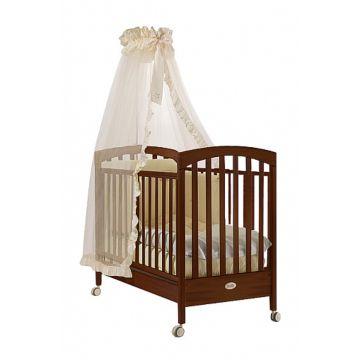 Кроватка детская Feretti Sauvage (колесо) (орех)